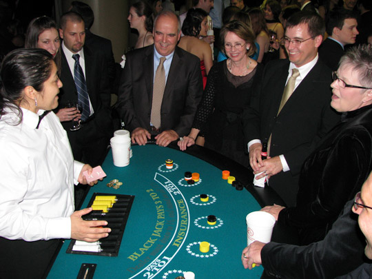 Black Jack Tables for Casino Parties